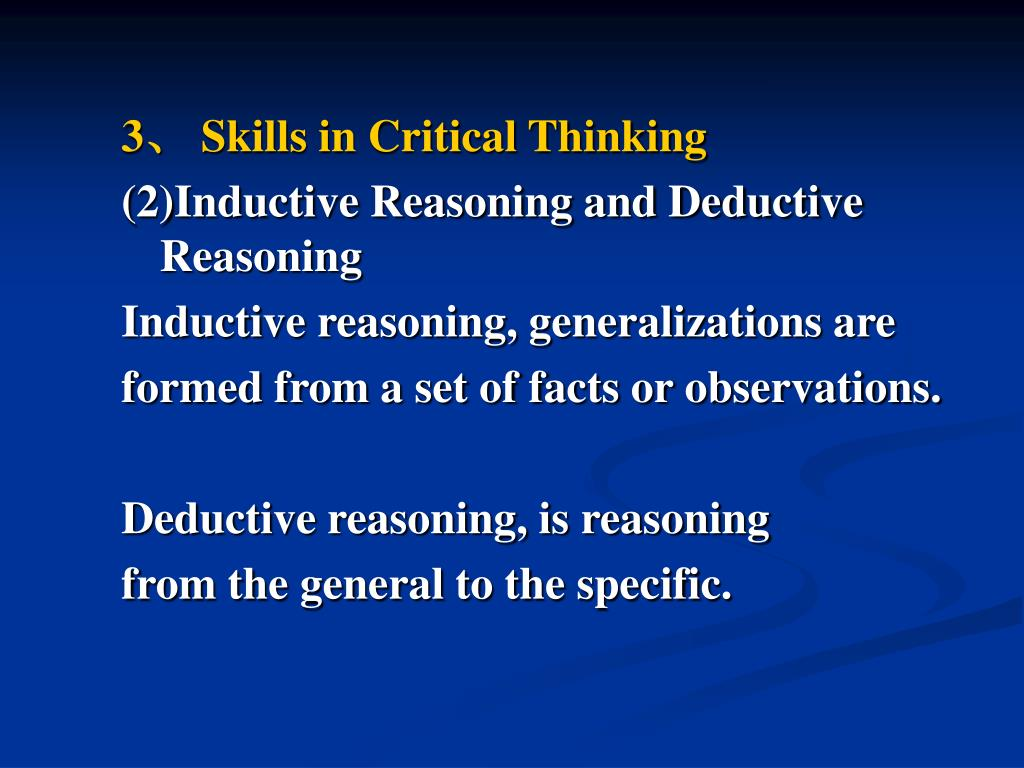 critical thinking and decision making ppt Critical thinking, problem solving & decision making in the science classroom camcorders scanners digital slate microphone - podcasting – a free.