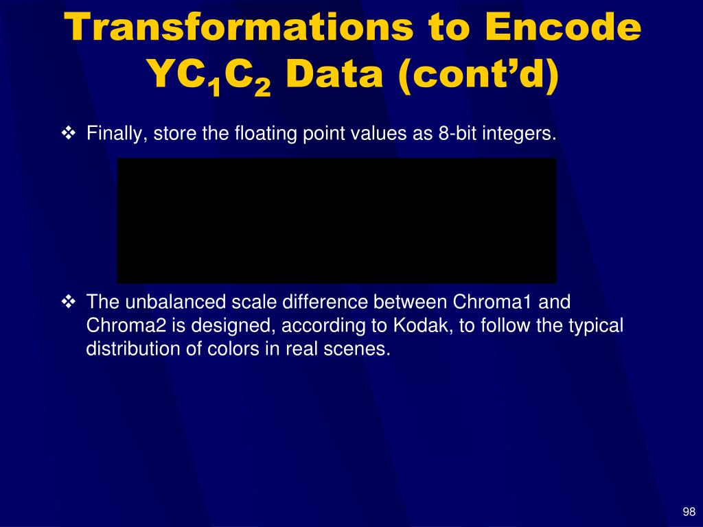 Transformations to Encode YC