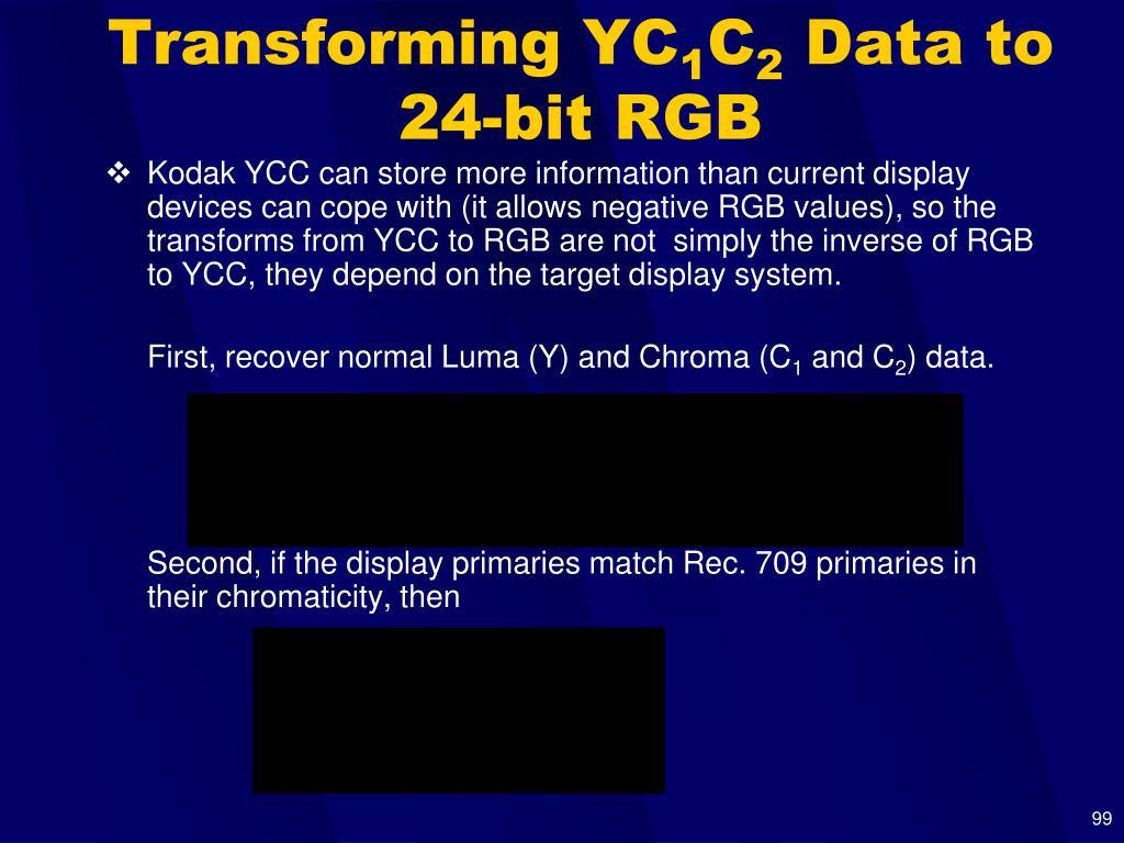 Transforming YC