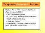progressive economic reform