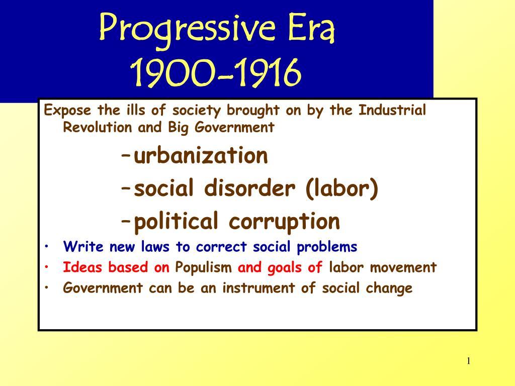 progressive era 1900 1916