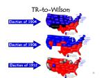 tr to wilson