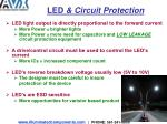 led circuit protection