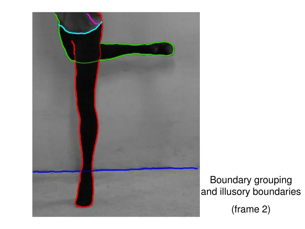Boundary grouping and illusory boundaries