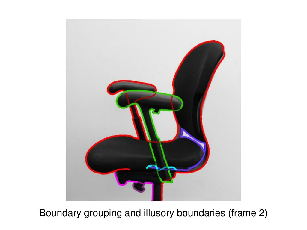 Boundary grouping and illusory boundaries (frame 2)
