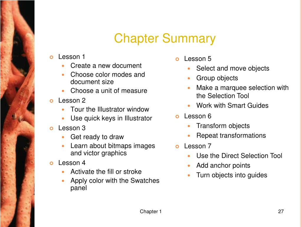 Chapter Summary
