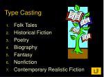 type casting8