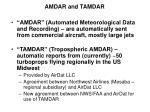 amdar and tamdar