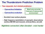 the thunderstorm prediction problem17