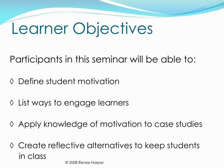 Learner objectives l.jpg