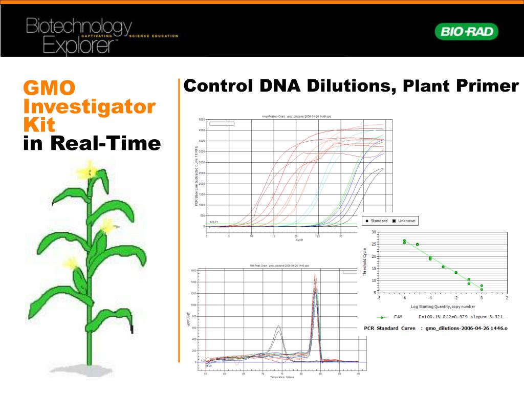 Control DNA Dilutions,