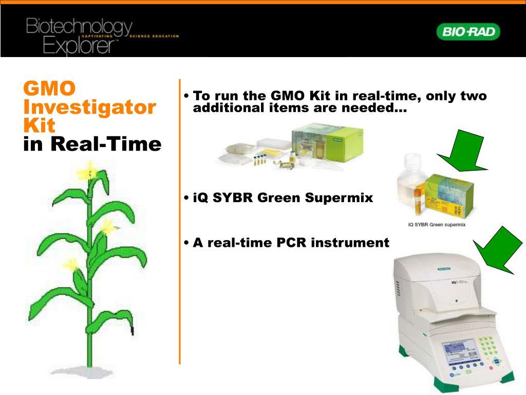 GMO Investigator Kit