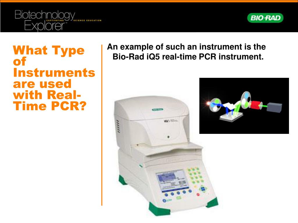 What Type of Instruments are used with Real-Time PCR?