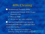 409 cleaning