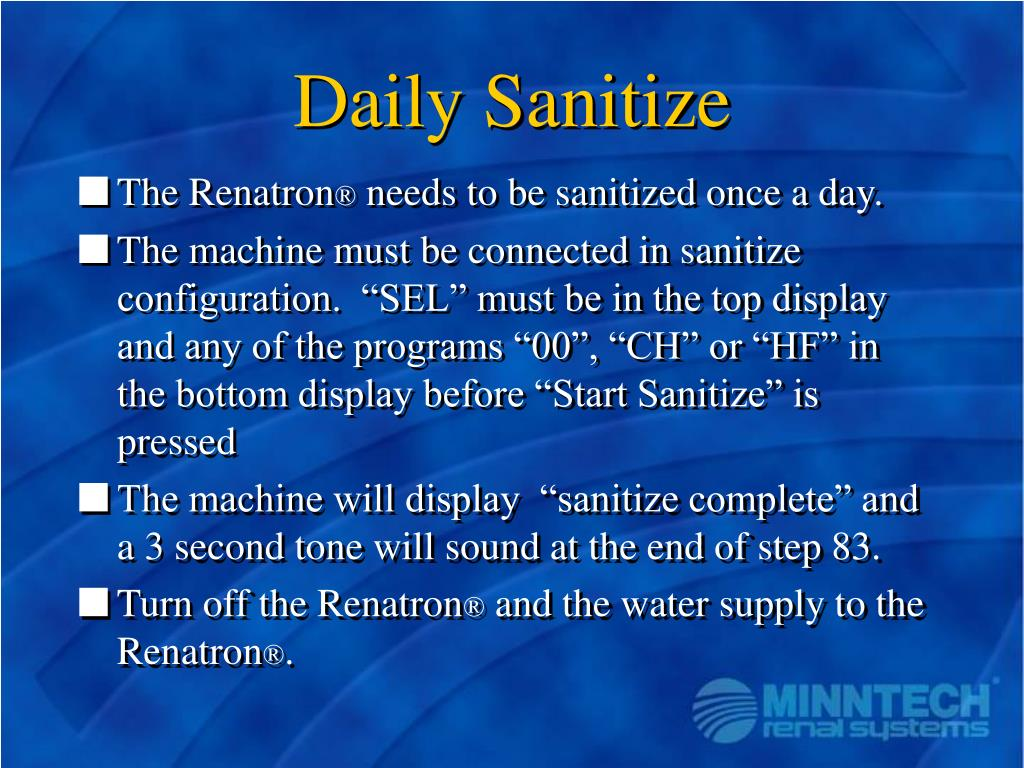 Daily Sanitize