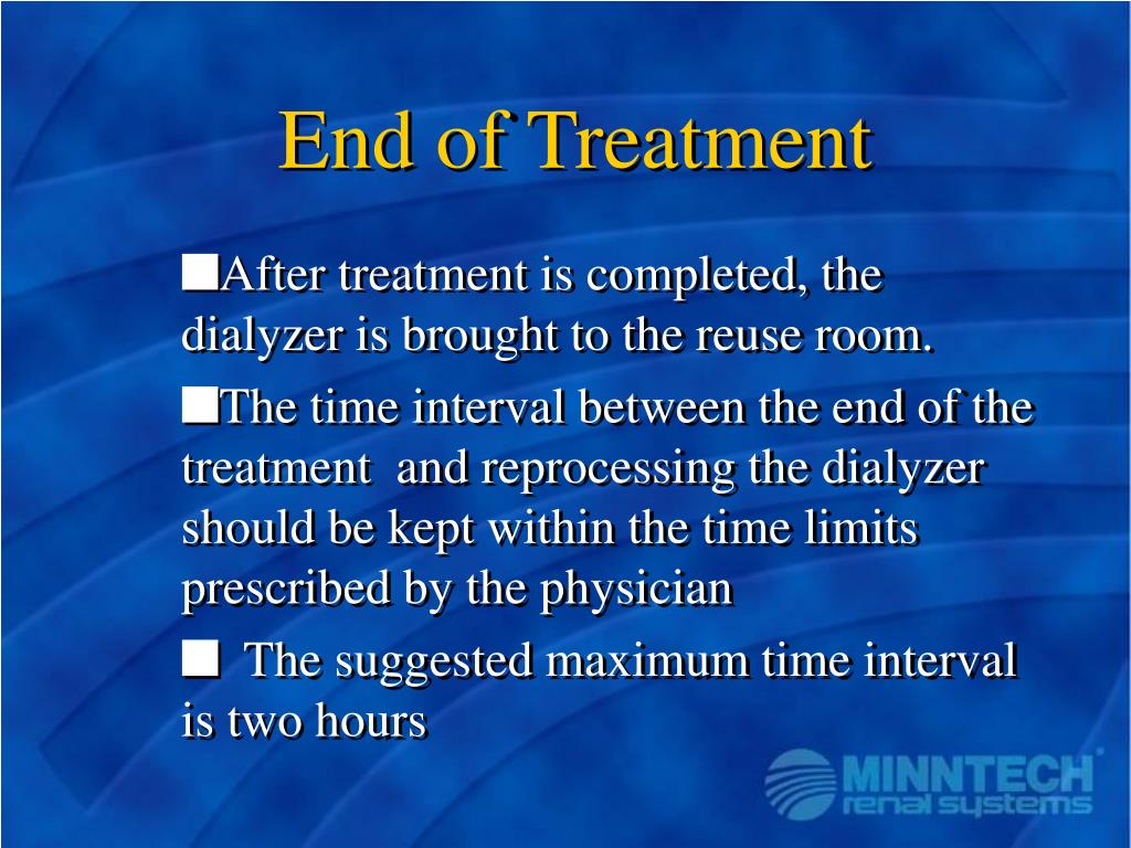 End of Treatment