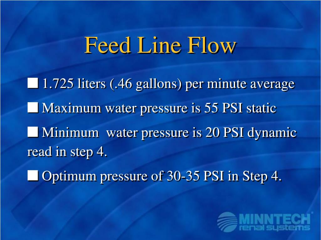 Feed Line Flow