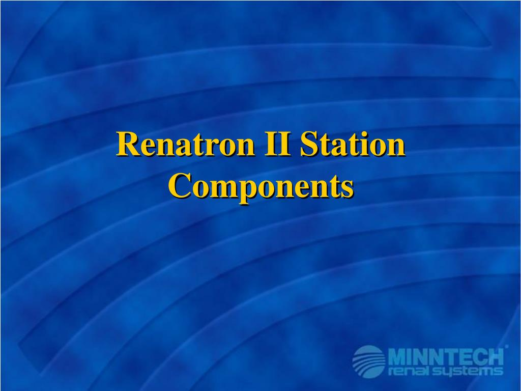 Renatron II Station Components