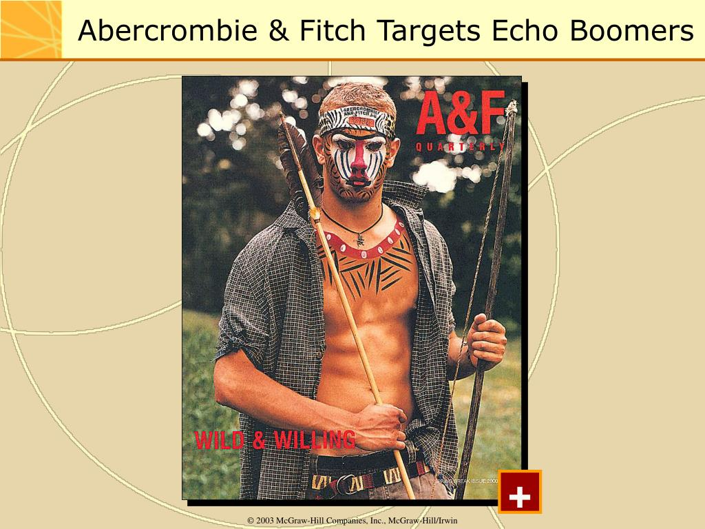Abercrombie & Fitch Targets Echo Boomers