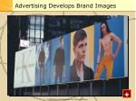 advertising develops brand images