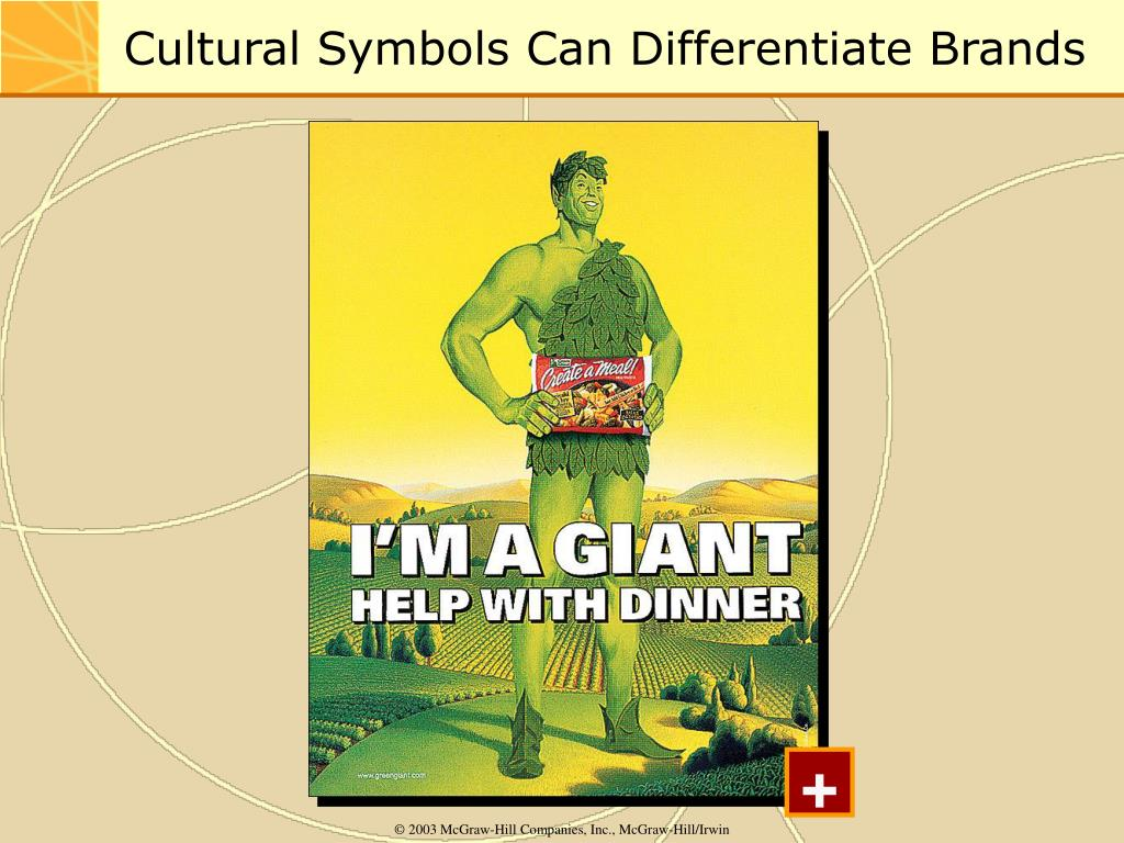 Cultural Symbols Can Differentiate Brands