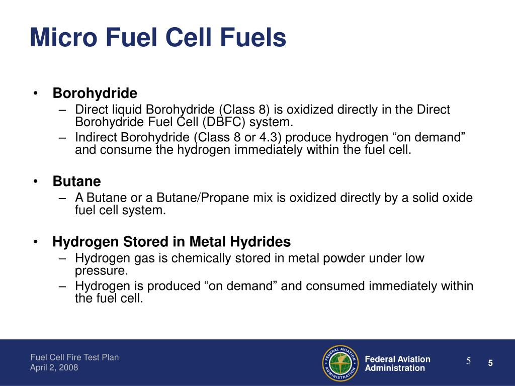 Micro Fuel Cell Fuels