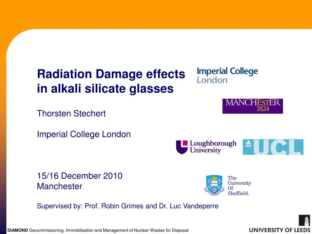 Radiation Damage effects