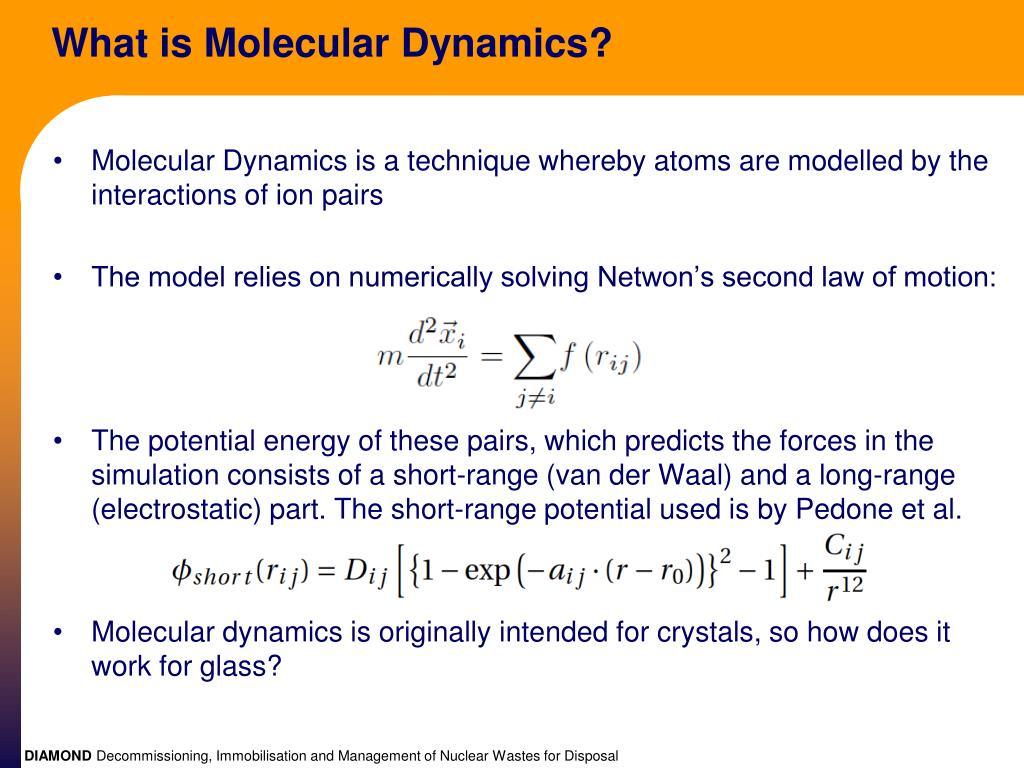 What is Molecular Dynamics?