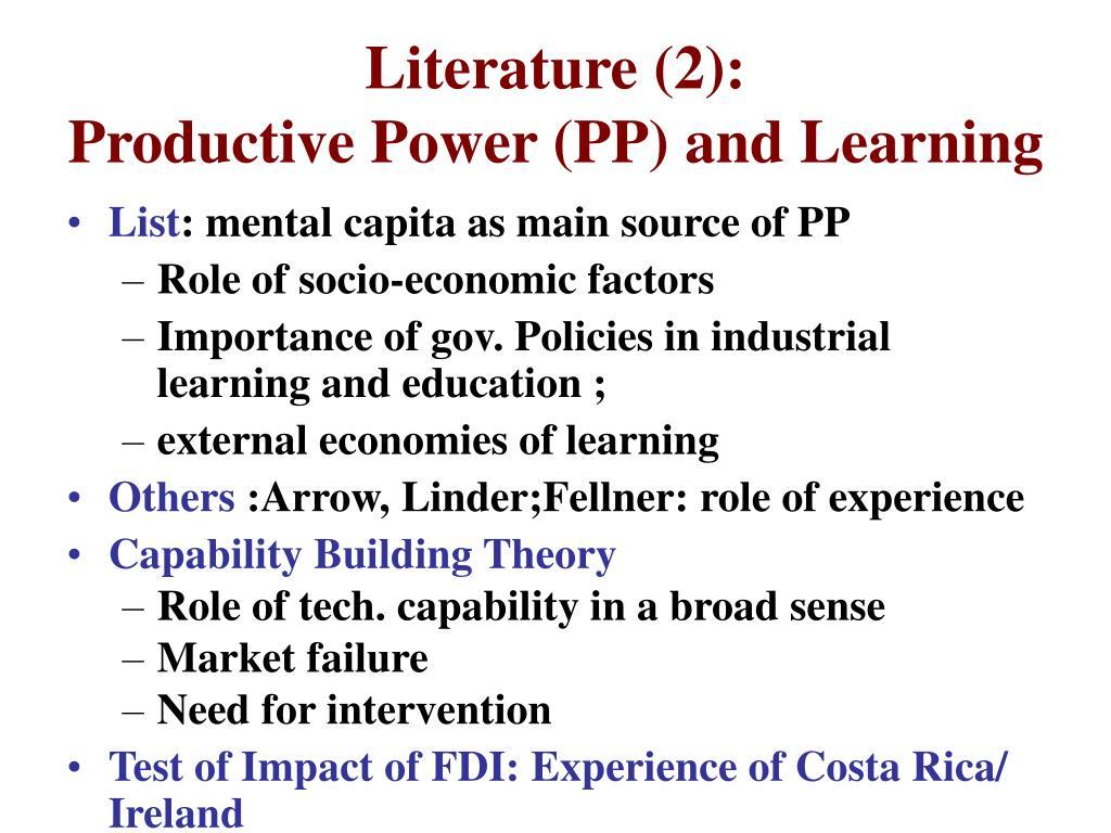 Literature (2):