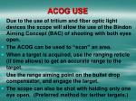 acog use