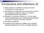 conclusions and reflections 2