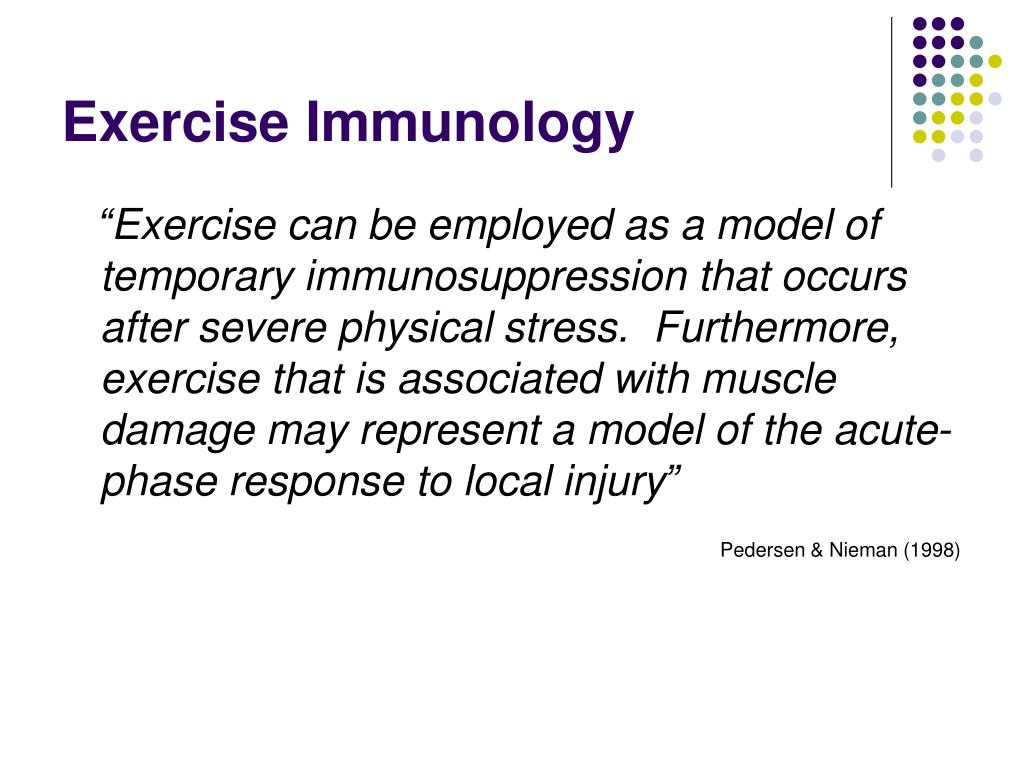 Exercise Immunology