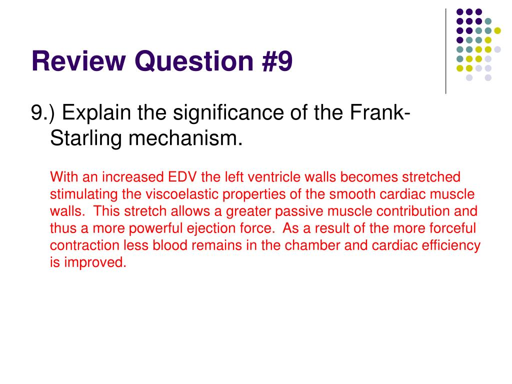 Review Question #9