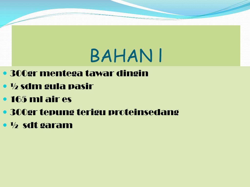 BAHAN l