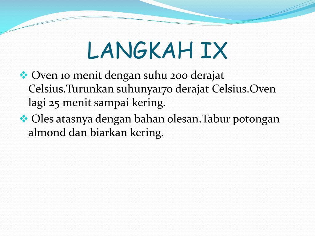 LANGKAH IX