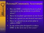 personal community assessment5