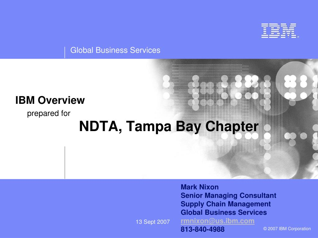 IBM Overview