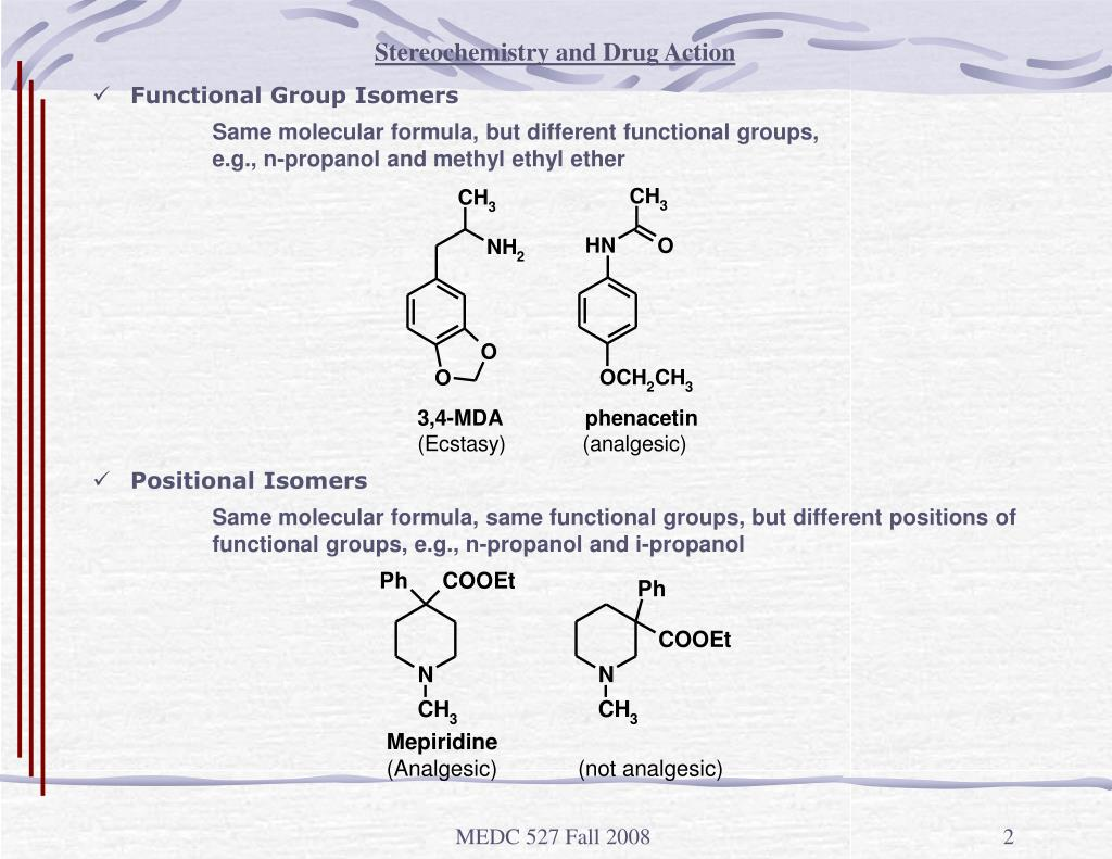 Stereochemistry and Drug Action