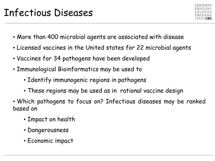 Infectious diseases l.jpg
