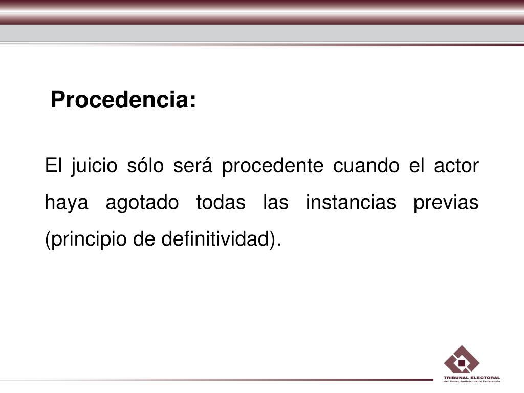 Procedencia:
