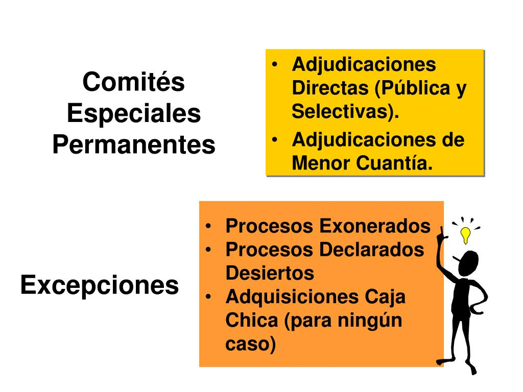Comités Especiales Permanentes