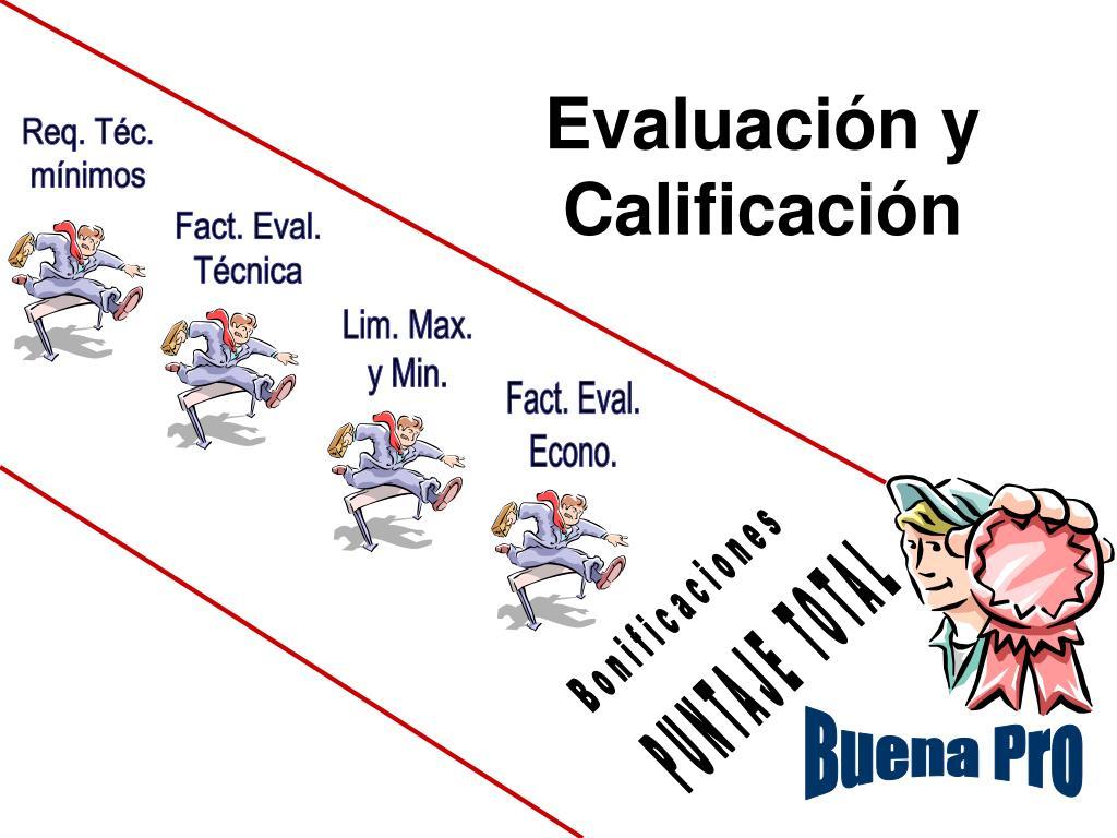 Evaluación y