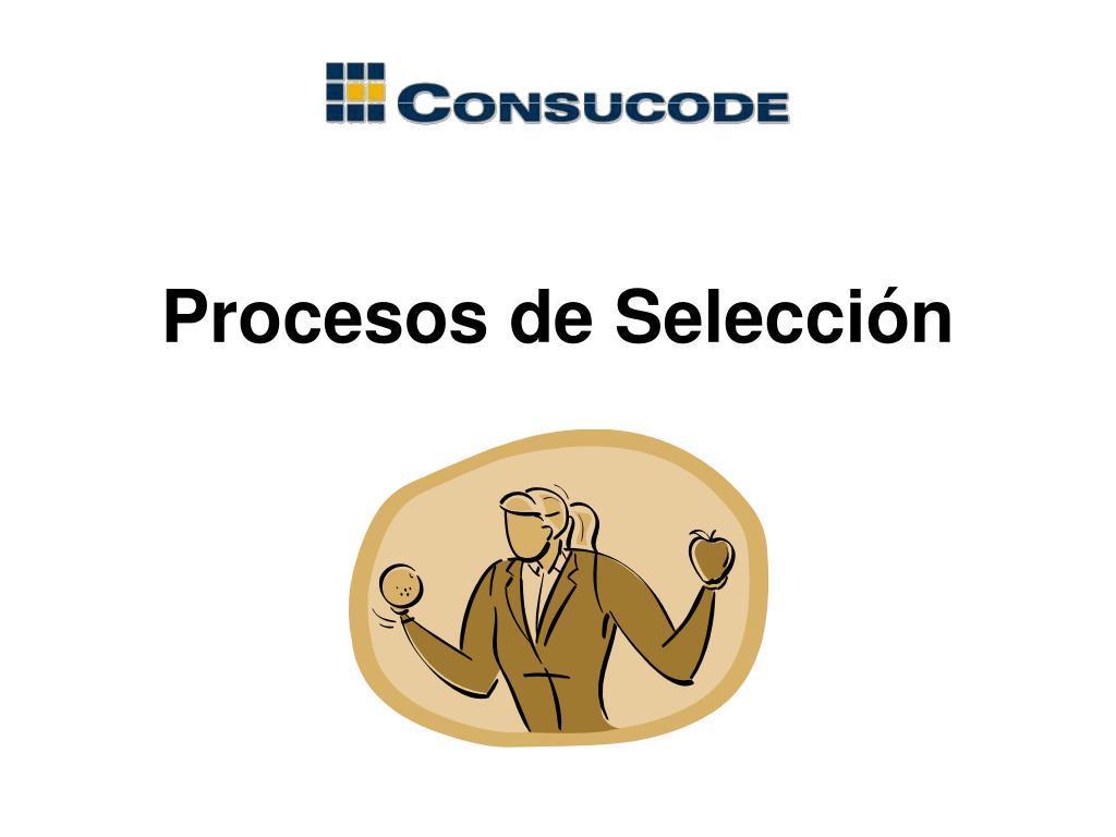 Procesos de Selección