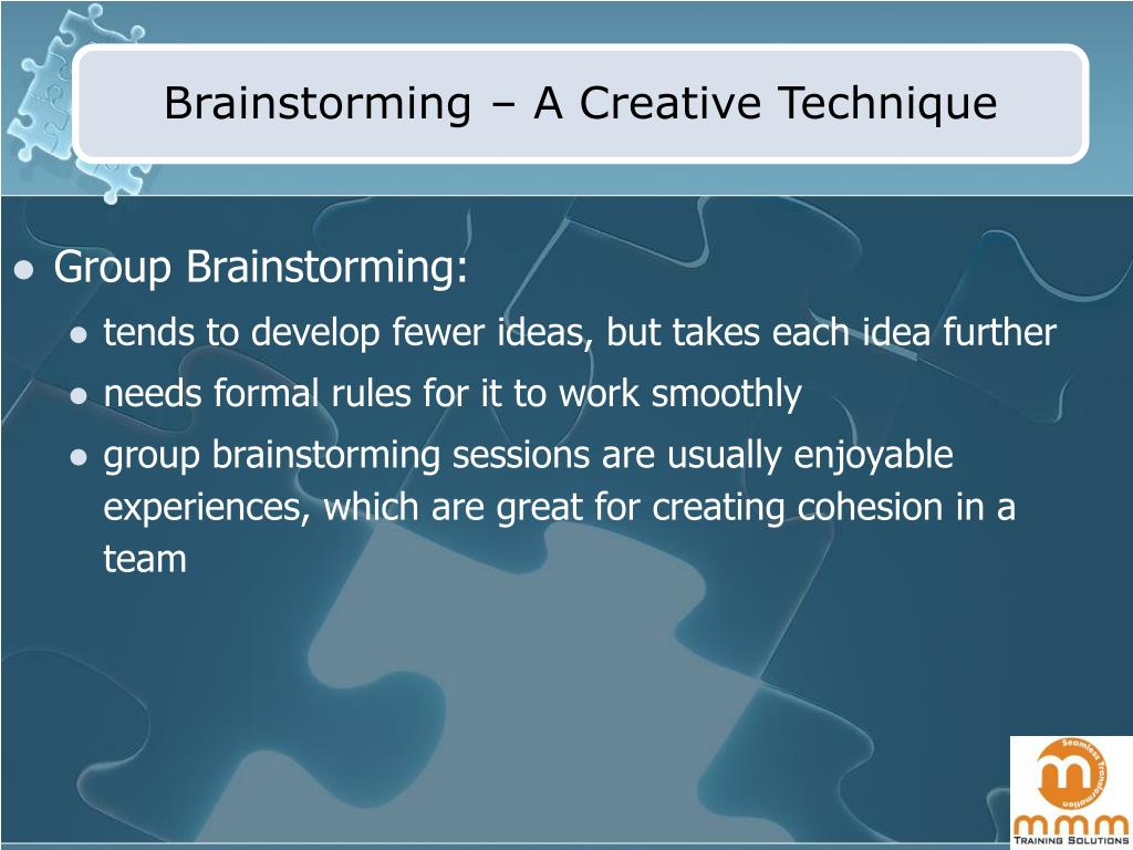 Brainstorming – A Creative Technique