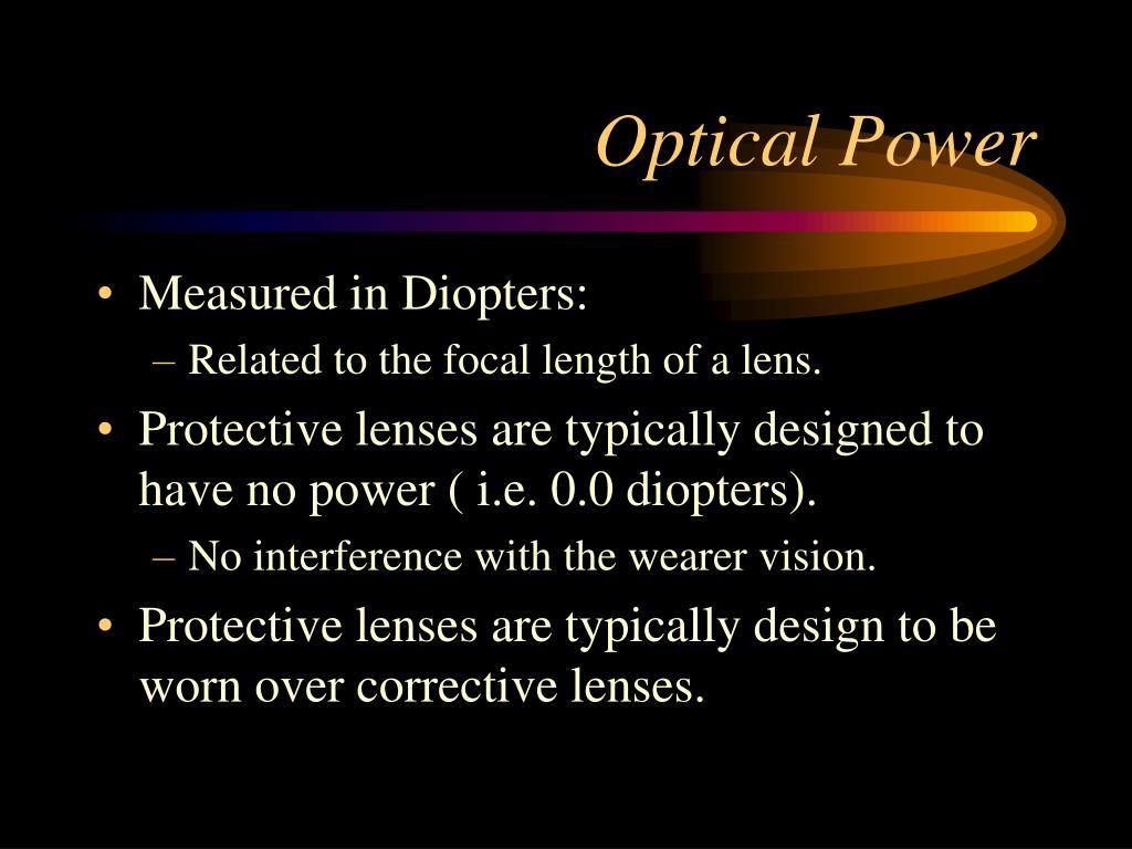 Optical Power