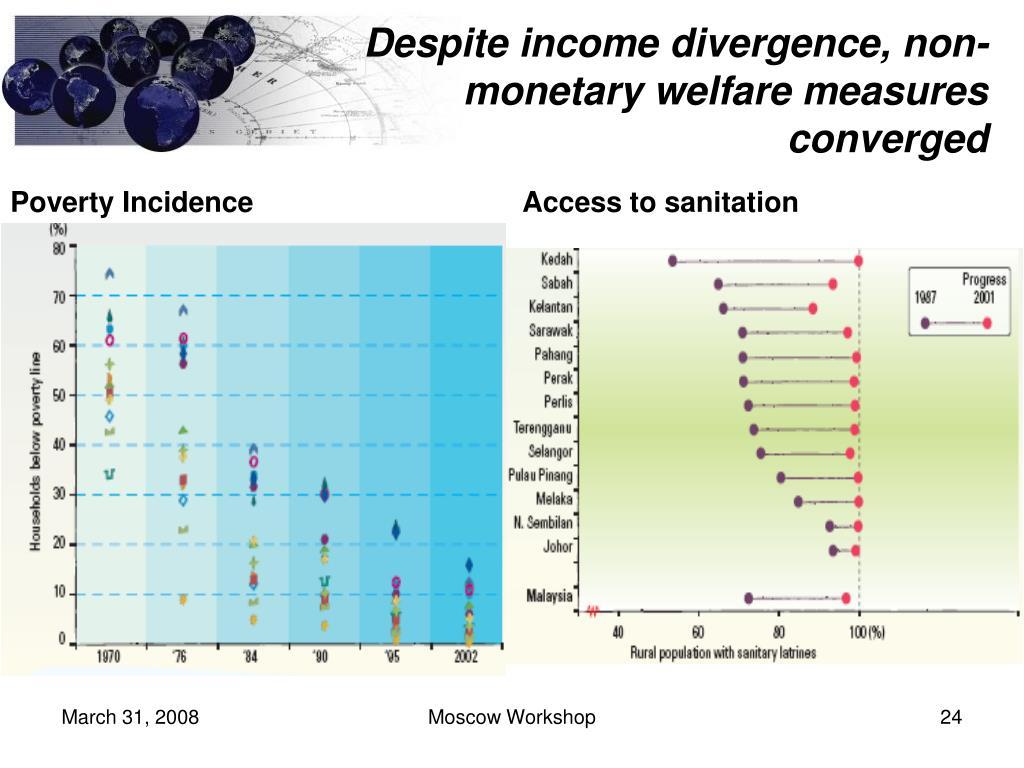 Despite income divergence,
