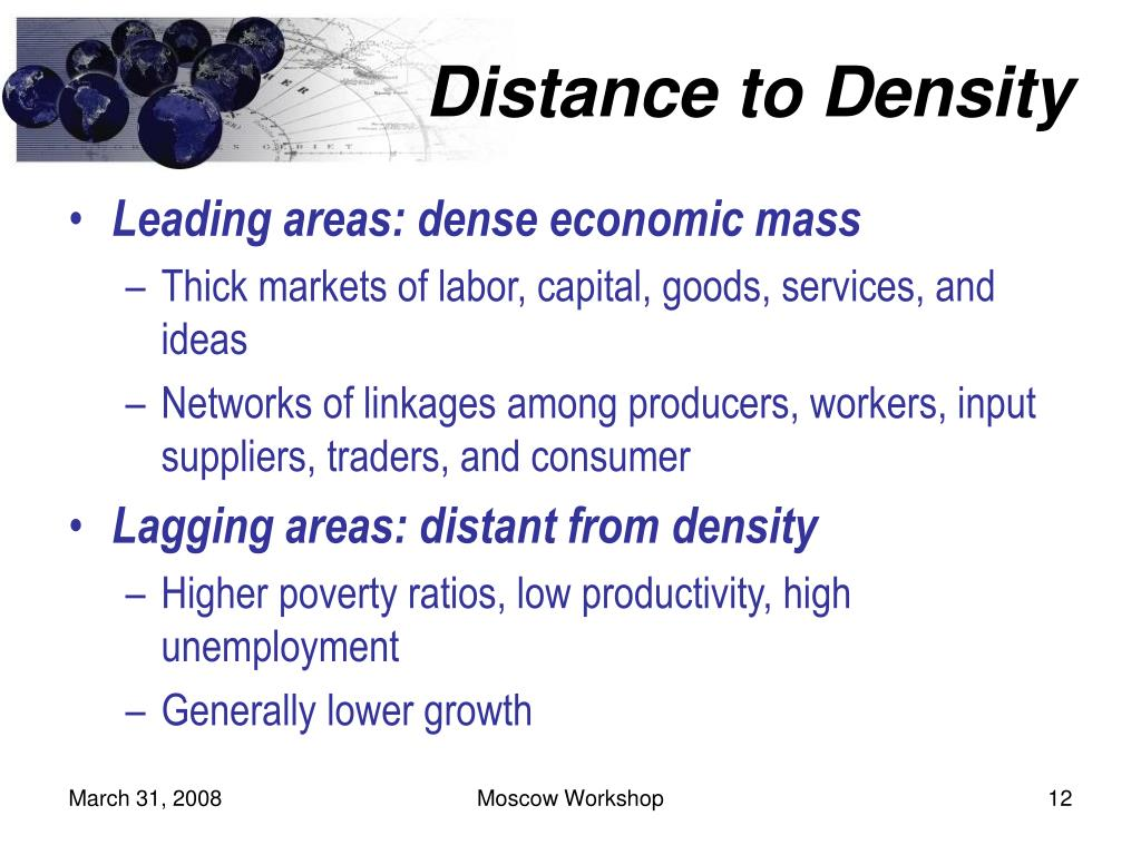 Distance to Density