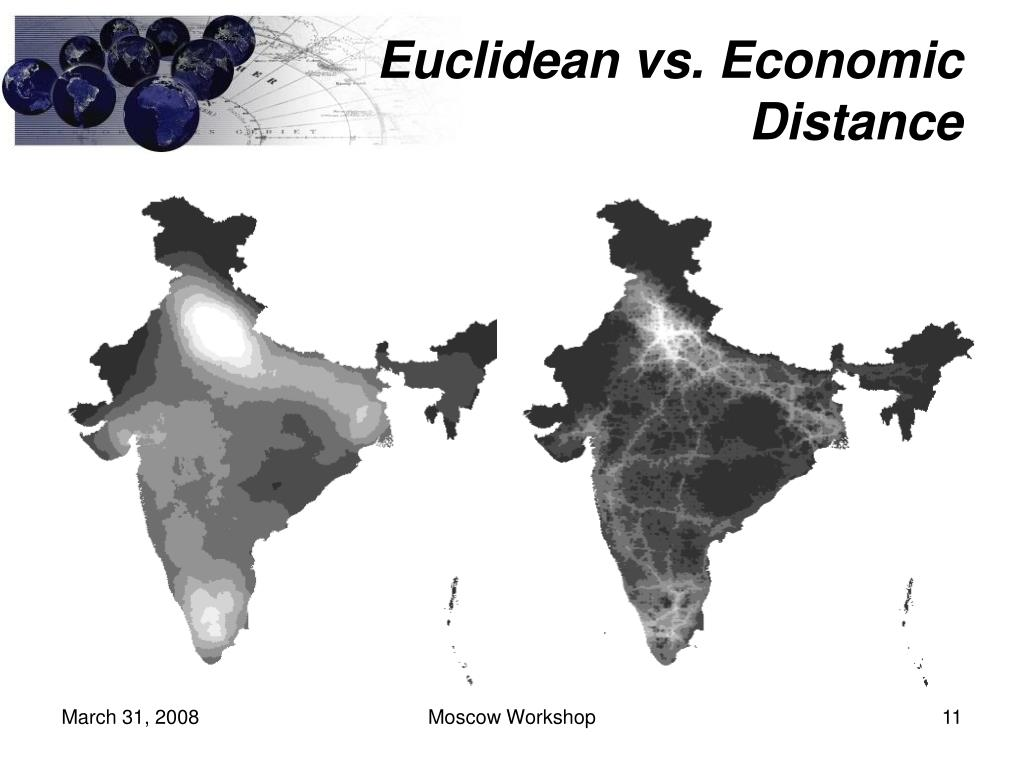 Euclidean vs. Economic Distance