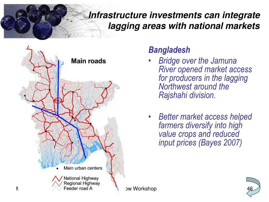 Infrastructure investments can integrate