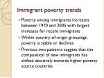 immigrant poverty trends